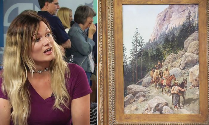 Lady Thinks Inherited Painting Worth $200. Upon Realizing Its True Value, She's in Tears