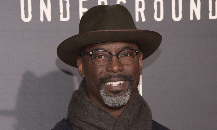 """Isaiah Washington attends the premiere of WGN America's """"Underground"""" at The Theatre at The Ace Hotel in Los Angeles on March 2, 2016. (Photo by Jason Kempin/Getty Images)"""