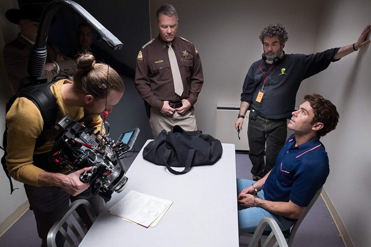 2 actors, a director, a cameraman