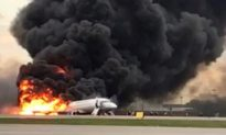 New Video Shows Aeroflot Plane Bouncing Before It Catches Fire