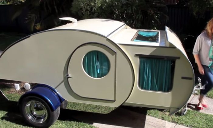 Watch: Tiny Camper Is More Than It Seems