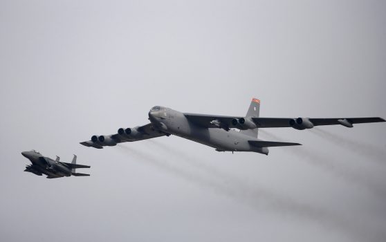 U.S. B-52 bombers reach Middle East in message to Iran