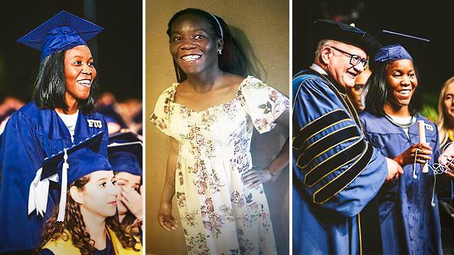 Blind & Homeless Florida Student Graduates From University With Degree in Psychology