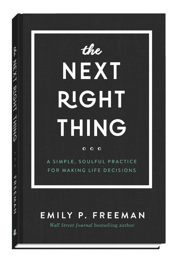 Book Review Chaos To Calm Discovering >> Book Review The Next Right Thing A Simple Soulful Practice For