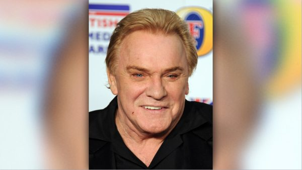 Freddie Starr at an awards ceremony