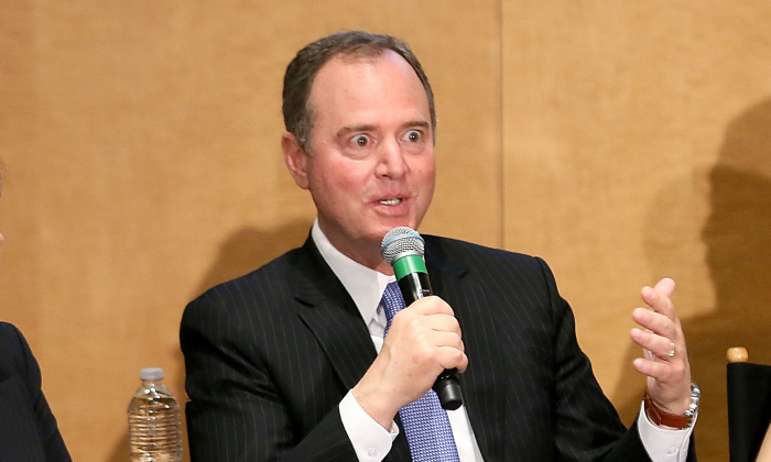 Rep. Adam Schiff (D-Calif.) at SAG-AFTRA in Los Angeles, Calif., on May 6, 2019. (Maury Phillips/Getty Images for SAG-AFTRA)