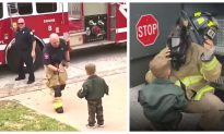 Video: Returning Soldier Surprises Son With the Help of Local Fire Brigade