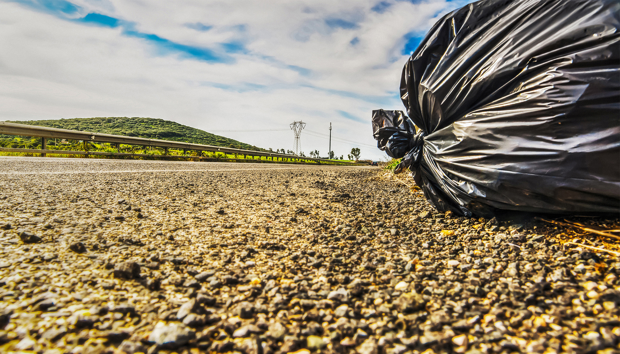 Kentucky Woman Notices a Trash Bag on the Side of Road. Then Realizes, It's Moving