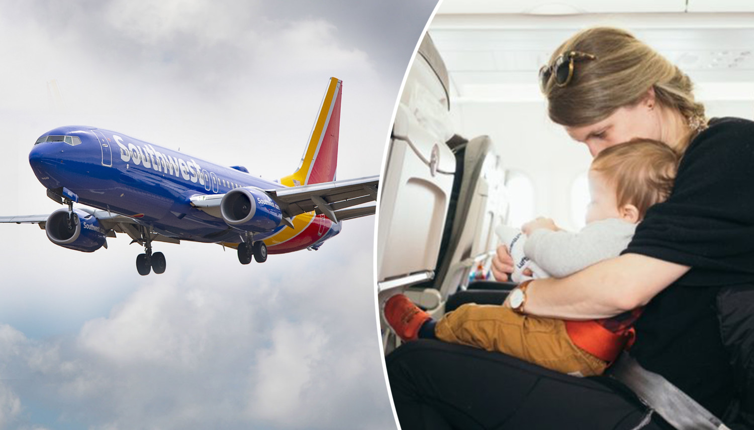 Flight Attendant Calms Crying Baby With a Simple Trick, Leaving Anxious Mom in Tears
