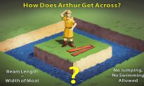 Can You Get Arthur Across the Moat Using Just 2 Wooden Beams? It's Harder Than It Seems!