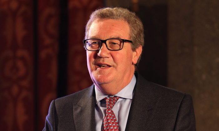 Australian High Commissioner Alexander Downer in London on June 29, 2017. (Aaron Chown  - WPA Pool/Getty Images)