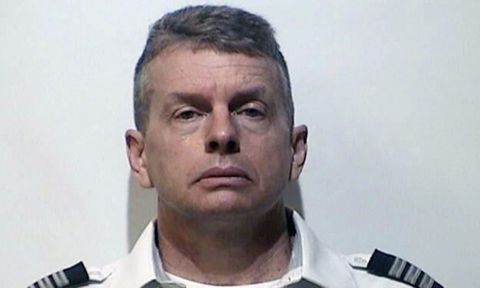 Christian R. Martin. a pilot for an American Airlines subsidiary was arrested on May 11, 2019, in the 2015 shooting deaths of three people in Kentucky, the state attorney general announced. (Christian County, Kentucky, Detention Center)