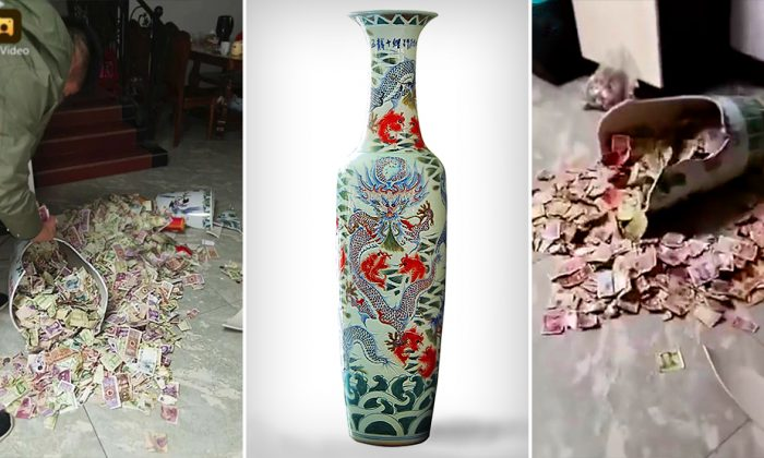Daughter Accidentally Breaks Chinese Vase, Discovers Dad's Secret Stash–Then He Fesses Up
