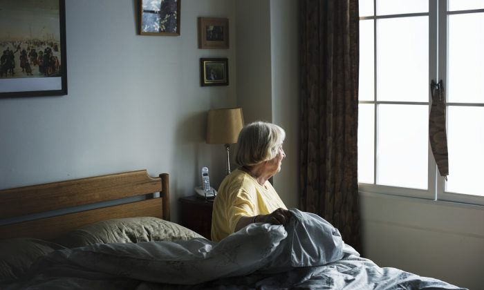 Previous research studied the effects of living alone on the elderly. New research finds that the depression among lonely seniors was also seen among younger people living alone. (rawpixel/Pixabay)