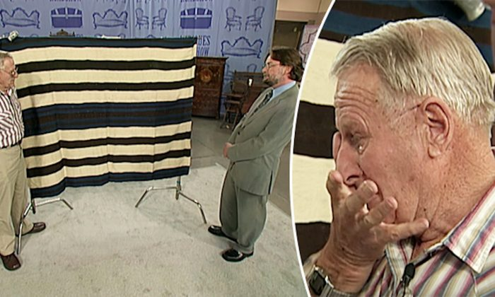 Antique Dealer 'Almost Dies' When Appraising His Old Throw Blanket, Guess Its Worth