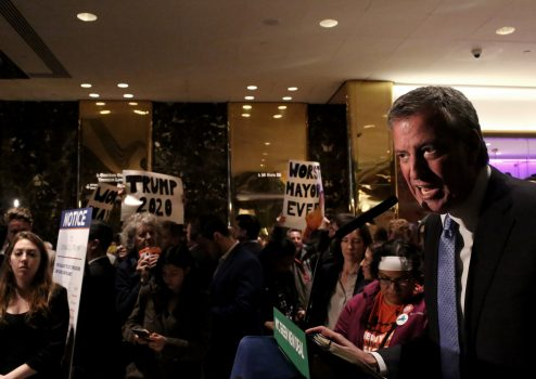 NYC mayor says he'll decide this week on presidential run