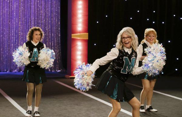 Rhea Perlman, from left, Diane Keaton and Jacki Weaver in a scene