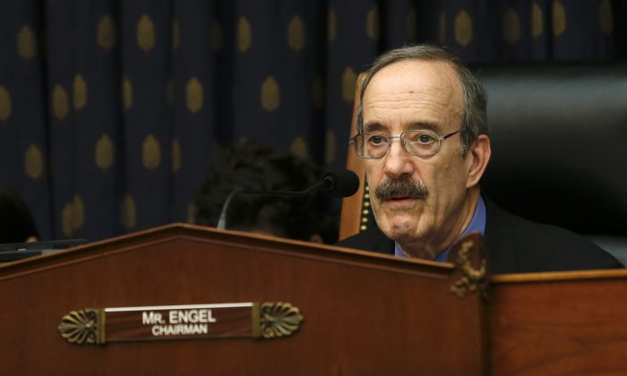 Eliot L. Engle, chair of the House Committee on Foreign Affairs, in Washington on May 8, 2019. (Jennifer Zeng/The Epoch Times)