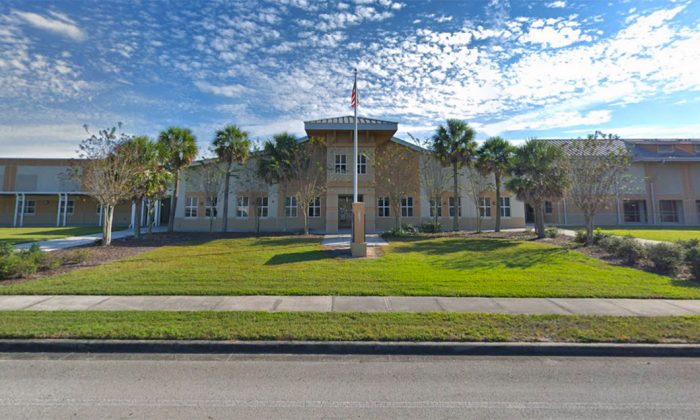 Exterior of Freedom Middle School in Orlando, Fla., in November 2018. (Google Maps Street View/Screenshot)