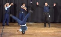 Video: These Police Officers Have Got the Moves