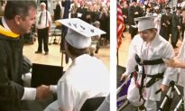This Student Born With Cerebral Palsy Was Determined to Walk Across Her Graduation Stage
