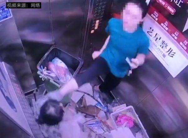 Kick custodian elevator