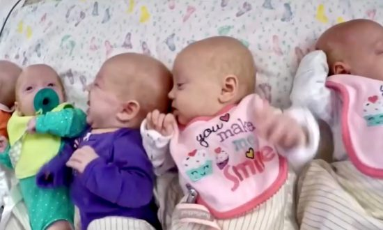 Video: America's First All-Girl Quintuplets Are Growing Up Fast
