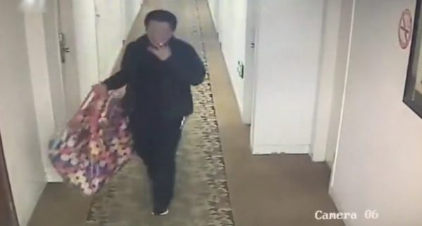 Steal hotel TV