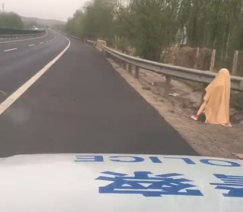 Манекен на дороге серьёзно напугал полицию