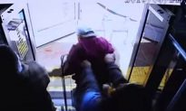 Las Vegas Police Release Video of Elderly Man Pushed Off Bus To His Death