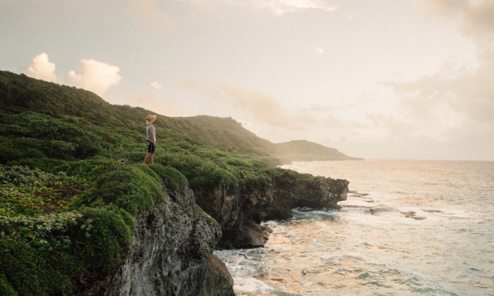 Rugged natural beauty abounds on the island—but there's more to discover beneath the surface. (Courtesy of Guam Visitors Bureau)