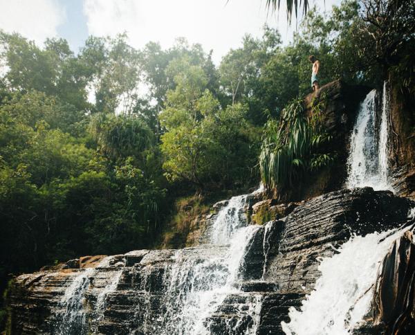 waterfall in guam