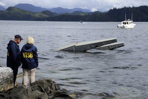 Alaska floatplane crash