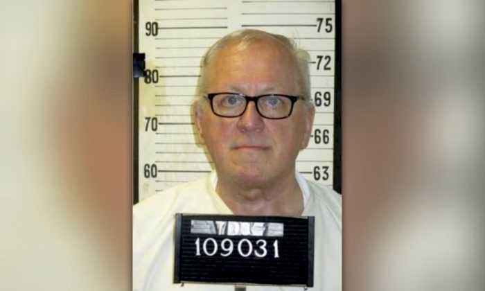 Death row inmate Don Johnson, who is scheduled to be executed on May 16, 2019, for the 1984 murder of his wife, Connie Johnson, in an undated file photo. (Tennessee Department of Corrections via AP)