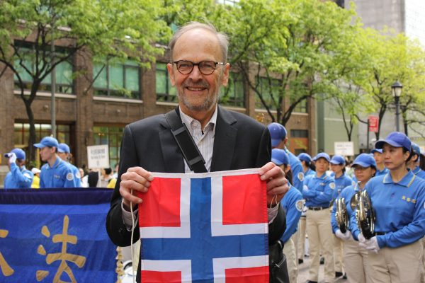 Falun Gong practitioner from norway