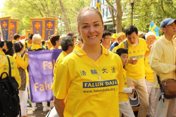 Sofia Drevemo, practitioner from Sweden