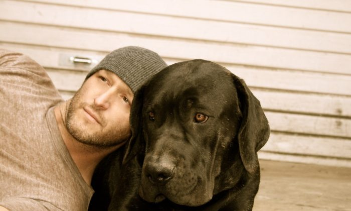 Kyle Schwab is a dog rescuer who takes in abused, neglected, ill, and abandoned dogs. (Courtesy of Kyle Schwab)