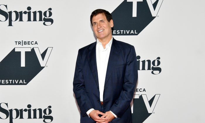 Media Mogul Mark Cuban attends the 2018 Tribeca TV Festival at Spring Studios in New York,  on Sept. 23, 2018. (Dia Dipasupil/Getty Images)