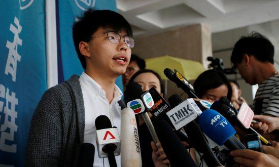 Hong Kong Court Sends Democracy Activist Joshua Wong Back to Jail