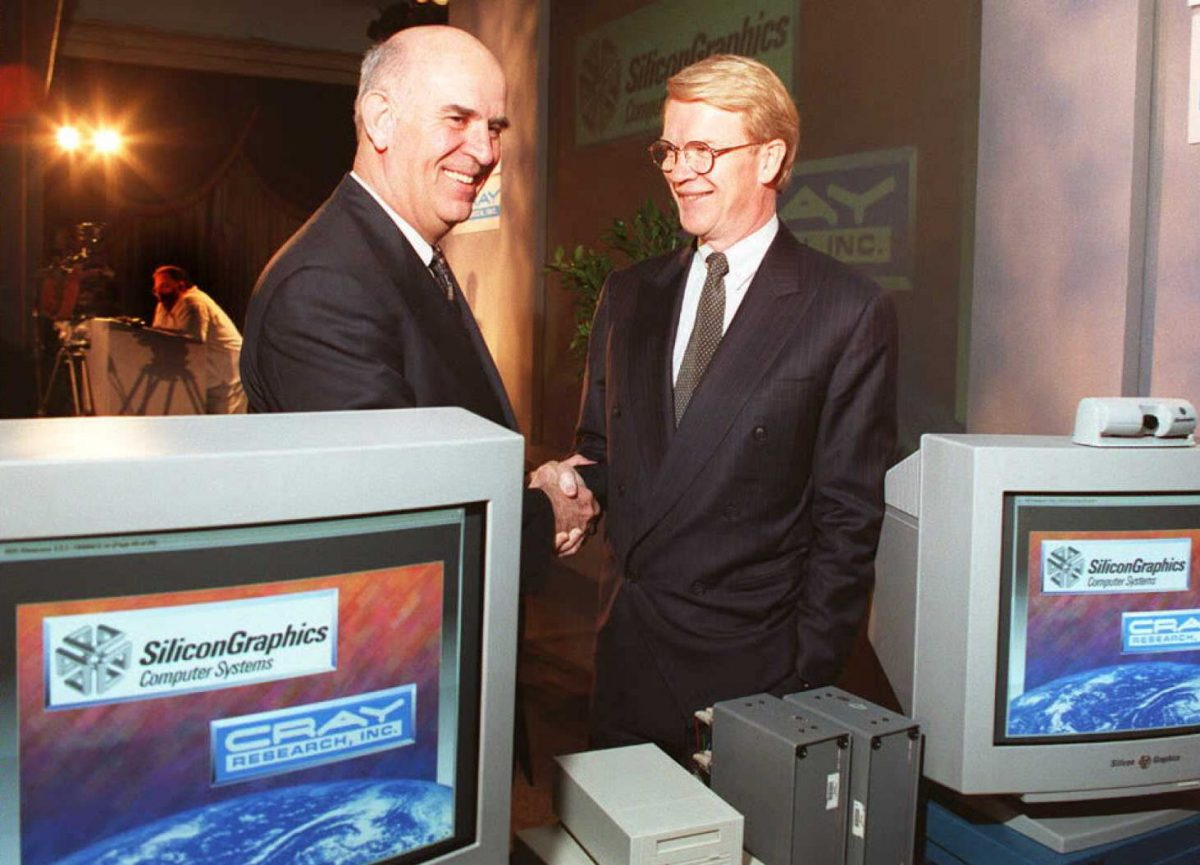 CEO of CRAY and Silicon Graphics 1996