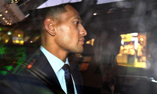 Rugby Australia Terminates Israel Folau's Contract Over Social Media Post