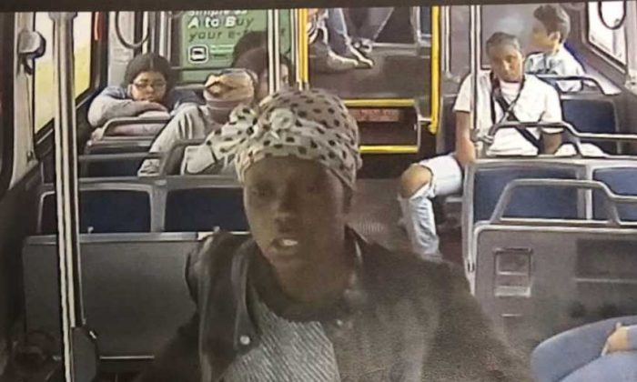 This unidentified woman is wanted in connection with the stabbing of a Milwaukee County Transit System driver in Milwaukee, Wisconsin, on May 15, 2019.(Milwaukee Police Department)