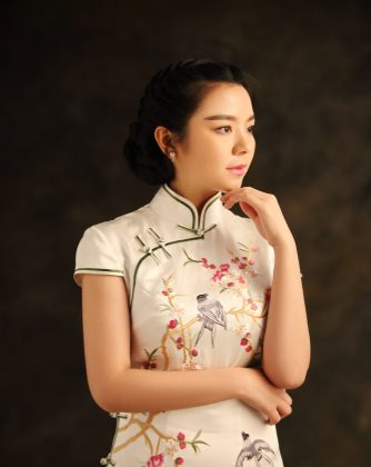 16edd10cfb1d A modern qipao. The qipao has a long history and has undergone many  permutations.