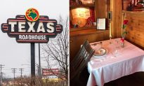 Here's the Reason Why This Texas Roadhouse Laid a Table With a Chair Turned Over