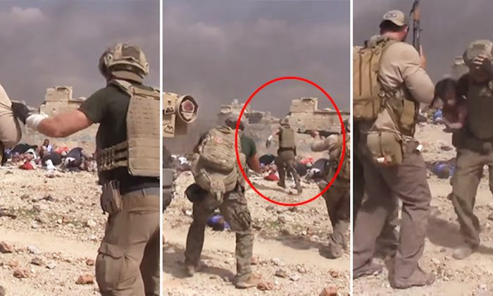 Former Special Forces Soldier Runs Through ISIS Gunfire to Save Little Iraqi Girl