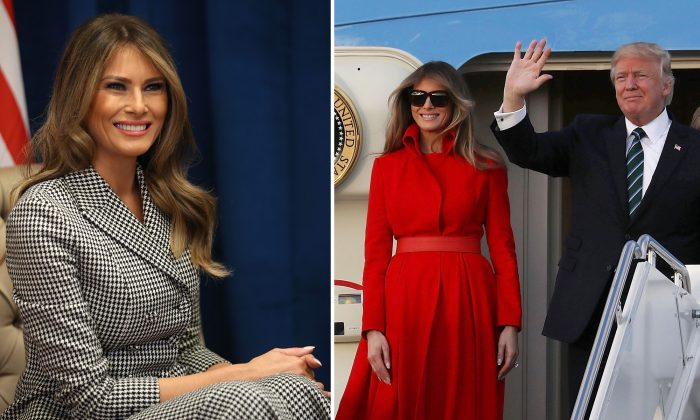 First Lady Talks About Behind-the-Scenes Family Moments With Husband President Trump