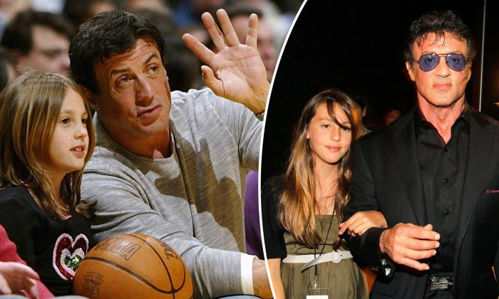 Sylvester Stallone's Eldest Daughter Sophia Turns Heads With Her Proud Dad at Graduation