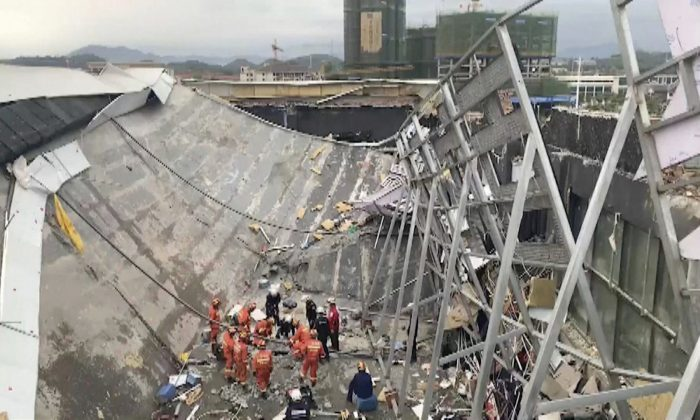 At Least 3 Killed in China Building Collapse