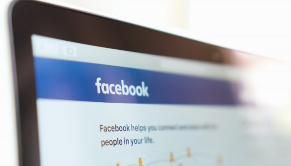 A stock photo of Facebook login page. (Shutterstock)