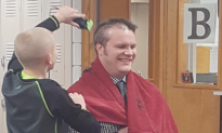Principal Shaves His Head for Bullied 6th Grader